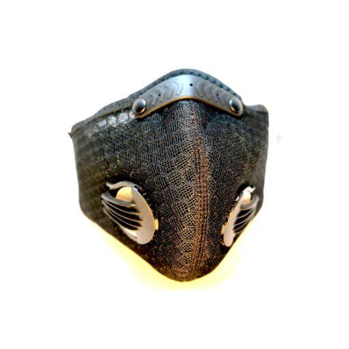 Maska antysmogowa Tangled Mesh widok z przodu