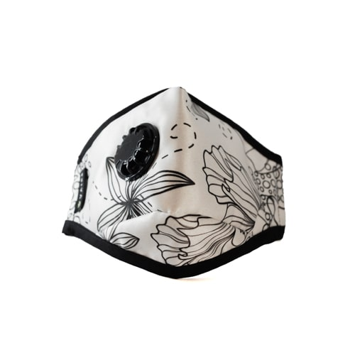 Maska antysmogowa Vaire Spring Breath widok z przodu