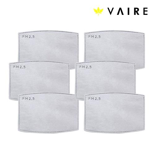 Zestaw sześciu filtrów do maski antysmogowej Vaire