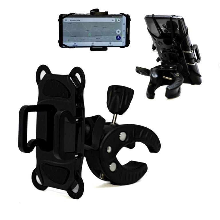 Uchwyt rowerowy na telefon double grip zdjęcie główne