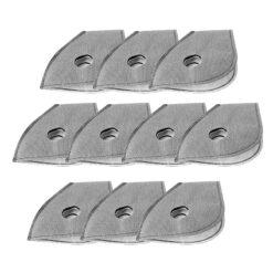 filtry węglowe pm2.5 do maski neoprenowej 10 sztuk