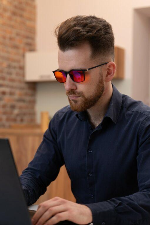 okulary do komputera biohac smart